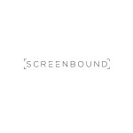 Screenbound Logo Black on White